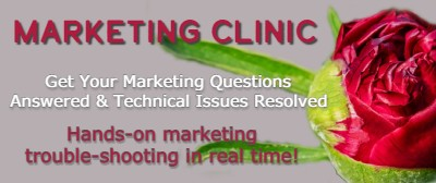 Marketing Clinic - Hands-on marketing support